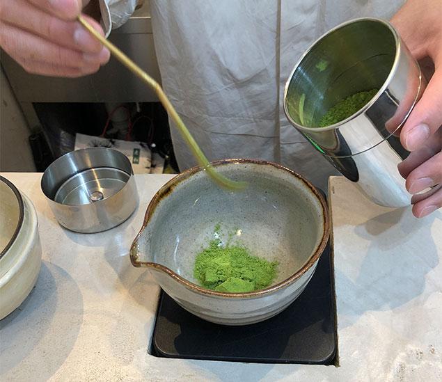 京都 抹茶ラテ1