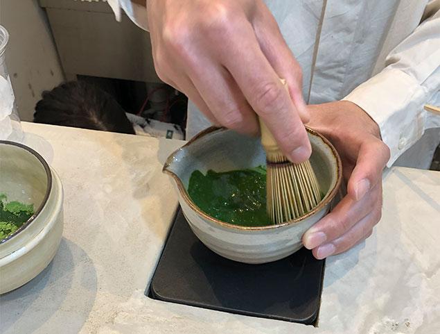 京都 抹茶ラテ2