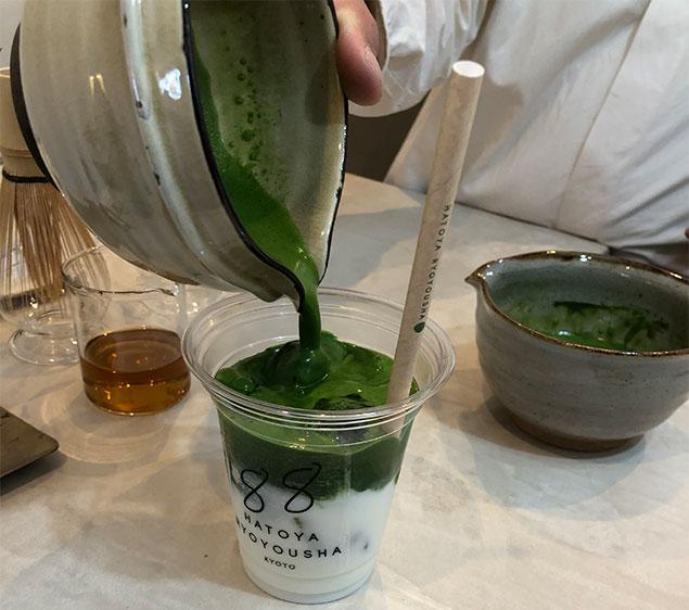 京都 抹茶ラテ4