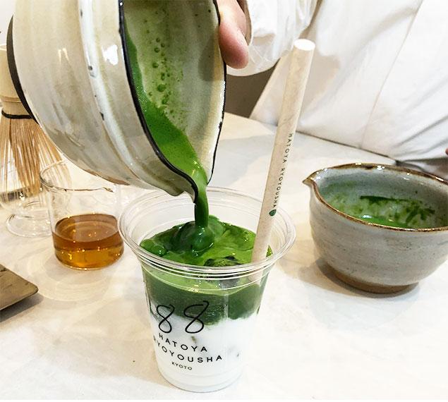 京都 抹茶ラテ5
