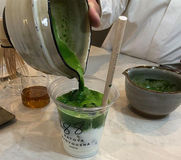 京都 抹茶ラテ6