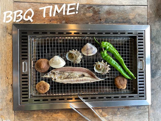 白浜 とれとれ市場 海鮮BBQ